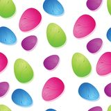 Bright Easter Egg Seamless Tile Stock Photo