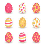 Bright  easter eggs Royalty Free Stock Photography