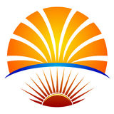 Bright education logo Stock Photography