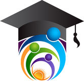 Bright education logo Stock Images