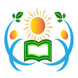 Bright education people Stock Images