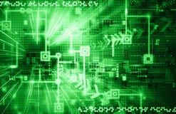 Bright Electronic Background Stock Image