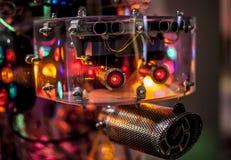 Bright electronic robot head design