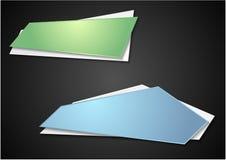 Bright elegant banners Stock Photos