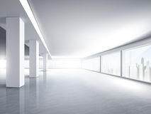 Bright empty office interior Royalty Free Stock Photography