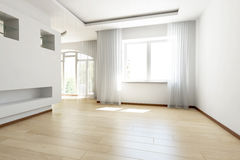 Bright empty room Royalty Free Stock Photos