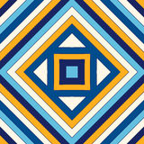 Bright ethnic abstract background. Seamless pattern with symmetric geometric ornament. Royalty Free Stock Photos