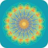 Bright ethnic mandala Royalty Free Stock Image