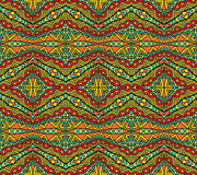 Bright Ethnic Pattern Royalty Free Stock Images