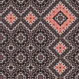Bright ethnic seamless pattern. Ethnic boho pattern. Tribal print art allover background. Fabric, Wallpaper,. Bright ethnic seamless pattern. Ethnic boho pattern Royalty Free Stock Images