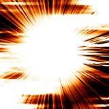 Bright explosion stock illustration