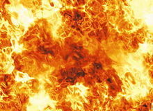 Bright explosion fire burst backgrounds. Body of flame texture Royalty Free Stock Image