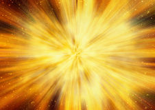 Bright explosion fire speed burst backgrounds in space stars. Bright explosion fire speed burst background in space stars Stock Photography