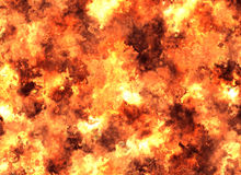 Bright explosion flash backgrounds. fire burst Royalty Free Stock Photo