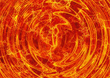 Bright explosion flash. fire burst Royalty Free Stock Photography