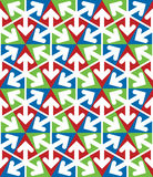 Bright extraordinary geometric seamless pattern Stock Photo