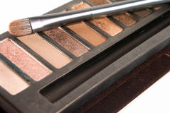 Bright eye shadows Stock Images