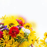 Bright fall bouquet royalty free stock photography