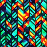 Bright fantastic seamkess pattern Royalty Free Stock Images