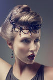 Bright fashion beauty - fantasy, glamour Stock Image