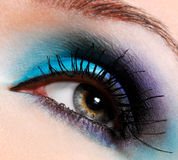 Bright, fashion eye Royalty Free Stock Photos