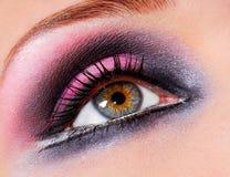 Bright, fashion eye Stock Image