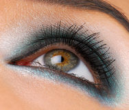 Bright fashion make-up Stock Photo