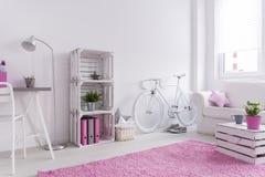 Bright feminine interior Stock Image