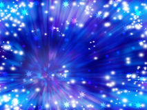 Bright festive background. Flash Light. Christmas. Fun. Positive festive background. The lights and glitter. Star vortex. Christmas. New Year. A party Stock Photos