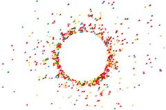 Bright festive background of multicolor candy royalty free stock photo