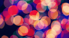 Bright festive colored lights Royalty Free Stock Photos