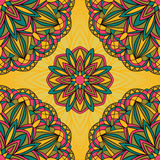 Bright festive pattern. Stock Image