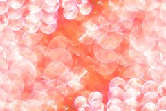 Bright festive pink background with bokeh. Photo royalty free stock image