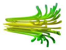 Bright fibers Stock Photo