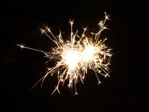 Bright Firework. Royalty Free Stock Image