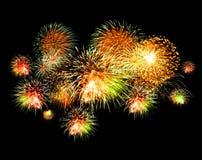 Bright firework Royalty Free Stock Photos
