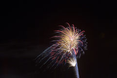Bright Fireworks Royalty Free Stock Image