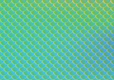 Bright fish scale vector seamless pattern. Gradient mesh background with fishscale ornament. Mermaid pattern or decor element. Fish skin or Mermaid tail Royalty Free Stock Photo