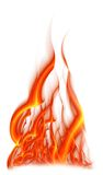 Bright flame Royalty Free Stock Photo