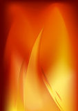 Bright flame background illustration Royalty Free Stock Images