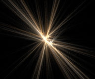Bright flares Stock Photography