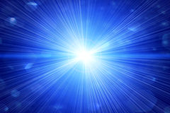 Bright flash or a star Royalty Free Stock Photo