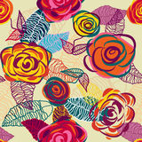 Bright floral background Royalty Free Stock Images