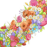 Bright floral background Royalty Free Stock Photography