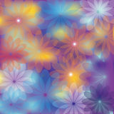 Bright floral background for various design Royalty Free Stock Images