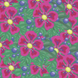 Bright floral background for your use Royalty Free Stock Images