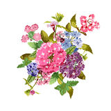 Bright floral bouquet Royalty Free Stock Photos