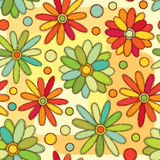 Bright floral pattern Stock Photo