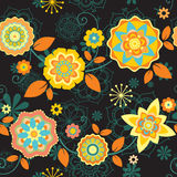 Bright floral pattern Royalty Free Stock Image