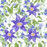 Bright Floral Pattern Royalty Free Stock Photos